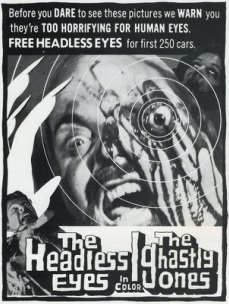 Ad mat for Headless Eyes
