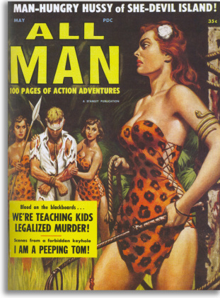 Cover of All Man magazine